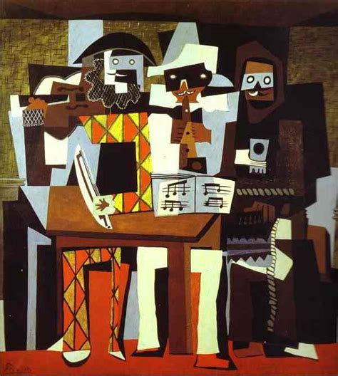 picasso paintings three musicians this season s edgy ticket picasso flavorwire