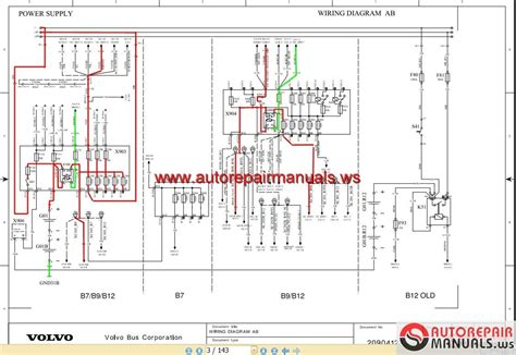 volvo b7 b9 b12 wiring diagram auto repair manual
