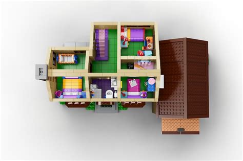 lego house interior first simpsons lego set announced for 2014 simpsons house interior lego inhabitat