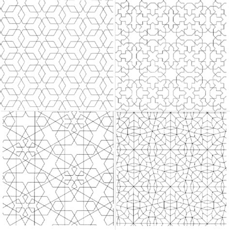 islamic pattern maths free coloring pages of islamic pattern