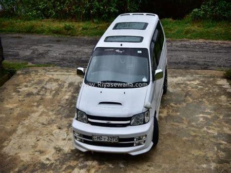 Toyota Noah For Sale In Sri Lanka Used Toyota Noah 1998 Diesel Rs 3700000 Sri Lanka