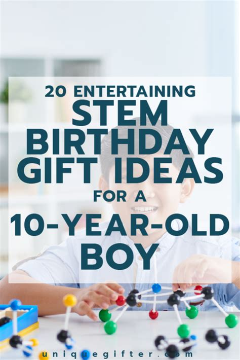 10 Gift Ideas For A Who Is An Animal Lover by 20 Stem Birthday Gift Ideas For A 10 Year Boy Unique