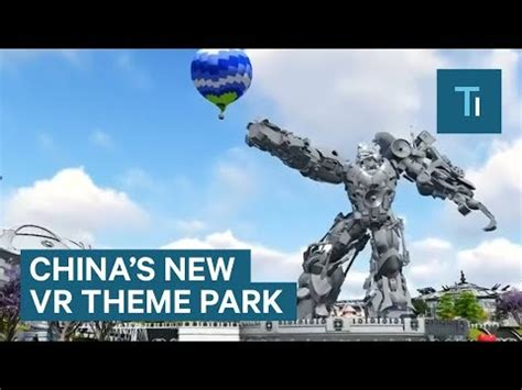 theme park newspaper articles welcome to china s billion dollar virtual reality theme