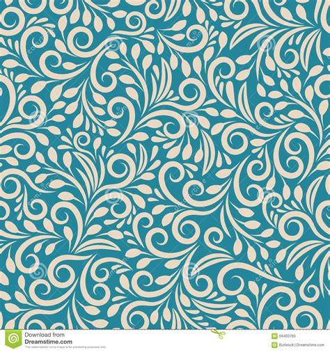 pattern background seamless seamless floral pattern on uniform background stock vector