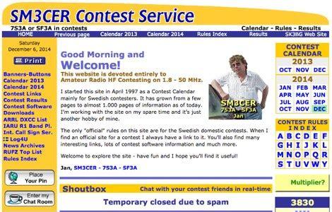 Ham Radio Contest Calendar Ham Radio Contest Dx Resources Contest