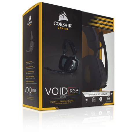 corsair void usb dolby 7 1 corsair void usb dolby 7 1 auriculares gaming auricular