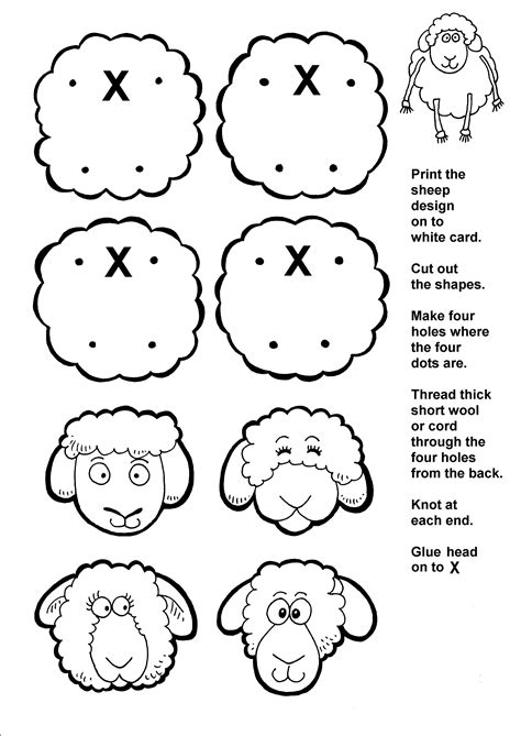 new year sheep pattern lost sheep activity page sunday school