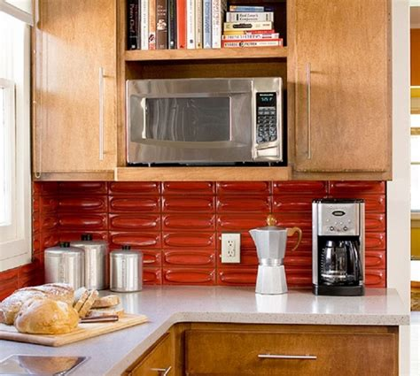 red kitchen backsplash accent tile in by uneekglassfusions the classic beauty of subway tile backsplash in the kitchen