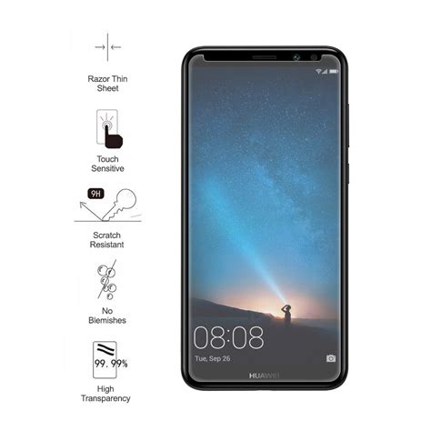 clear 9h tempered glass screen protector huawei 2i