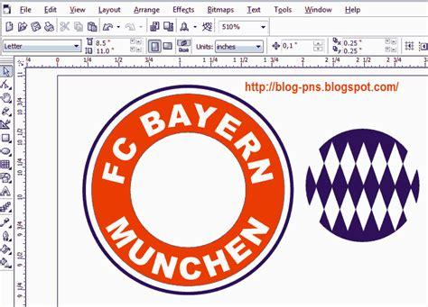 tutorial buat logo tutorial cara buat logo bayern munchen menggunakan