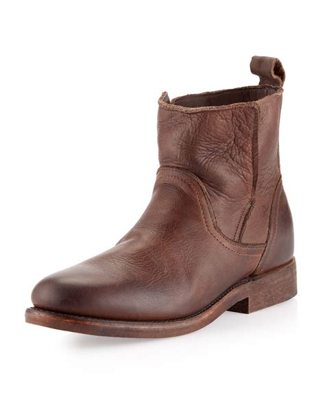 vintage shoe company boots vintage shoe company sulphur boots chocolate in brown for