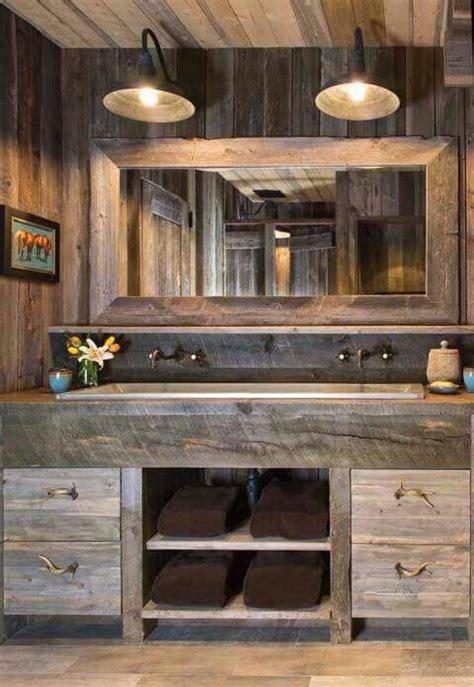 vintage  rustic bathroom designs  homes