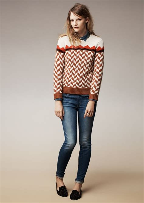 madewell teddy loafer madewell chevron ski sweater and the