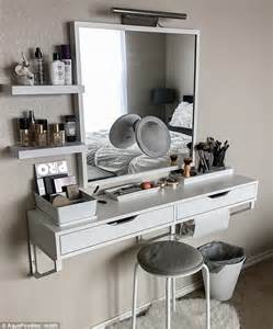 Small Makeup Vanity Setup Talk About Organization Goals Get Motivated To Get Your