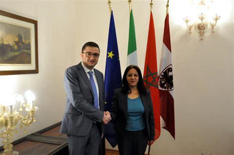 consolato marocco verona il presidente fugatti ha ricevuto la console generale