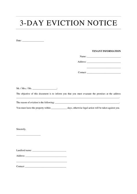 eviction letter templates production clerk cover letter