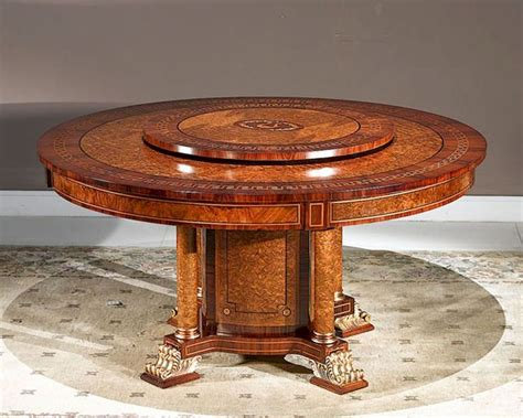table with lazy susan infinity furniture dining table w lazy susan orpheus inop 712