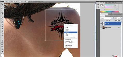 tattoo photoshop app how to apply digital tattoos using photoshop 171 photoshop