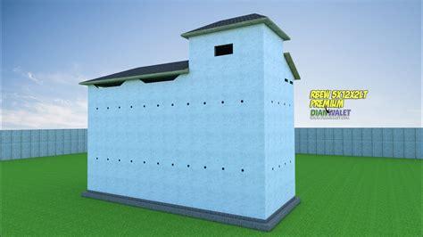 desain rumah burung walet   lantai premium youtube