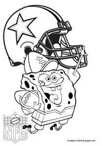 dallas cowboy coloring pages dallas cowboys spongebob coloring pages