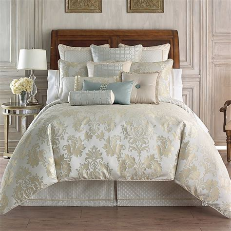 waterford bedding collections waterford bedding sets fairfield scroll comforter bedding from marquis by waterford
