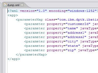 xml file pattern ibm websphere developer technical journal get started