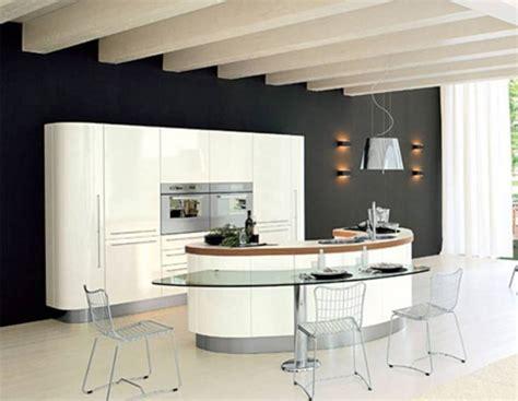 curved island kitchen designs construindo minha casa clean 45 cozinhas americanas