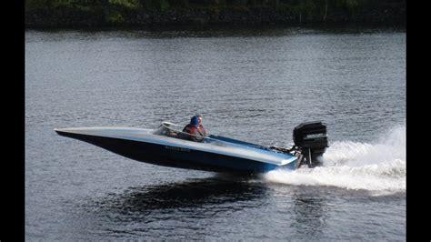 small sleek speed boat lowell massachusetts usa youtube - Small Boat Kept On Large Boat