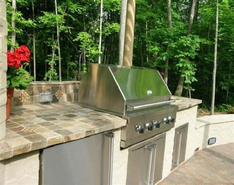 Outdoor Countertop Tile by Outdoor Grill Countertop From Tile Masters In