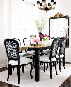 Black And White Dining Room Ideas Furniture Dining Room Luxury Black White Dining Room