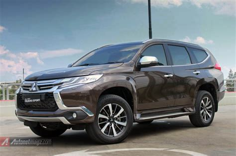 Lu Led Mobil Pajero impression review mitsubishi all new pajero sport indonesia part 1 eksterior