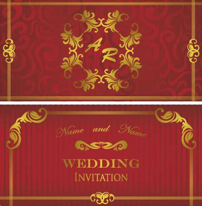Wedding Border Design Eps by Luxurious Floral Wedding Invitations Vector Design Free