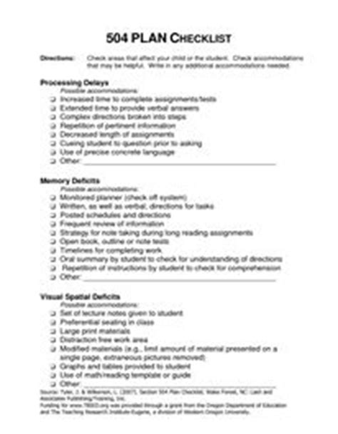 Recommendation Letter For Student With Adhd 1000 Images About 504 Plans On Manager Goals And Objectives And Adhd