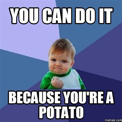 Funny Potato Memes - potato meme google search instant six pack pinterest