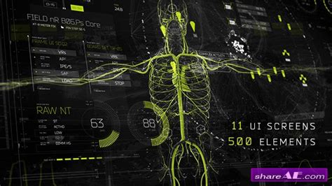 template after effects map videohive hud ui pack 700 187 free after effects templates