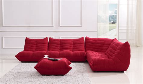 Fabric Sectional Sofas Bloom Fabric Sectional Sofa