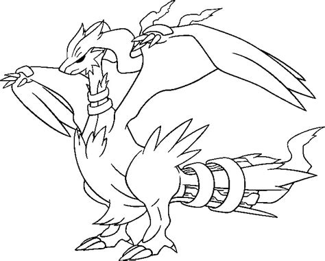 pokemon coloring pages joltik coloriages pokemon reshiram dessins pokemon