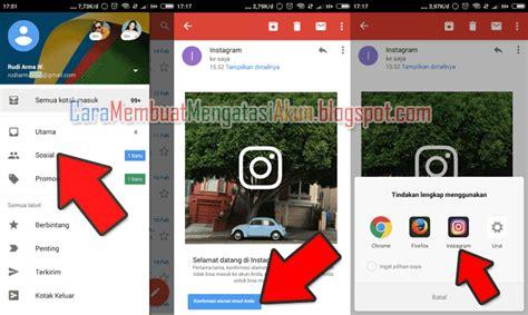 cara membuat akun instagram lewat google cara membuat banyak akun instagram untuk bisnis toko online