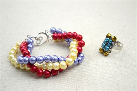 Handmade Bracelet Designs - handmade beaded jewelry designs simple pearl bracelet and
