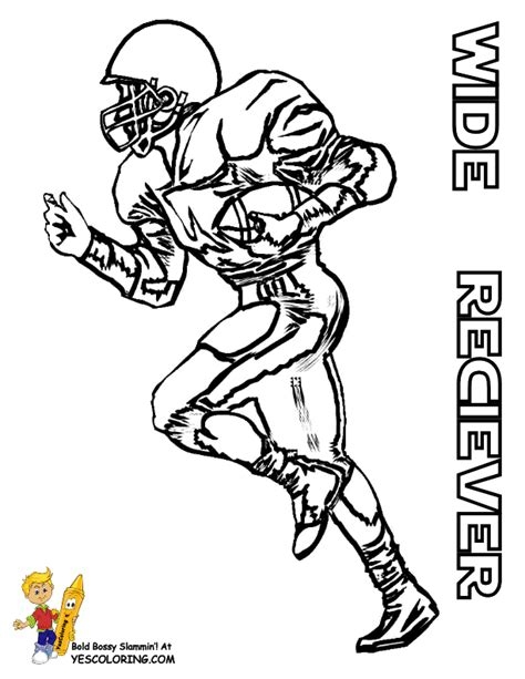 coloring pages of nfl football players gritty gridiron football coloring sheets football player