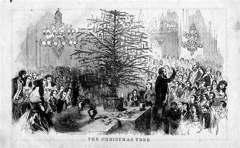 us slave short history of christmas tree