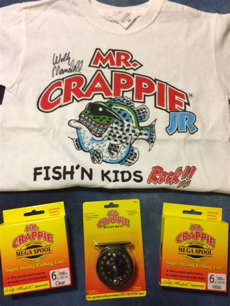 mr crappie kits mr crappie raffle 1607 pics ends at the end of