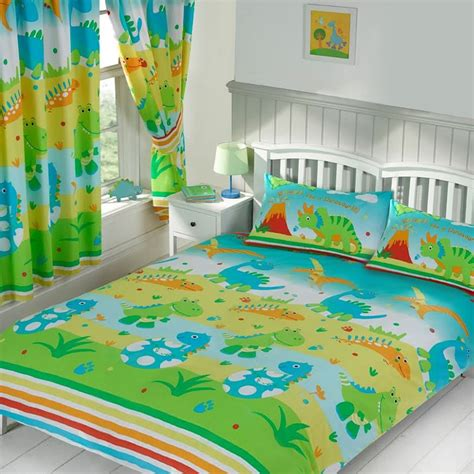 dinosaurs curtains and bedding dinosaur bedding twin double junior duvet covers