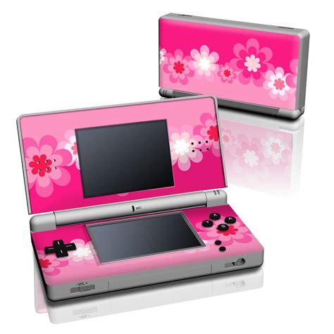 Nintendo Ds Lite Pink by Retro Pink Flowers Nintendo Ds Lite Skin Istyles