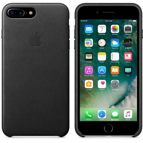 Iphone 7 Plus Leather Black iphone 7 plus leather