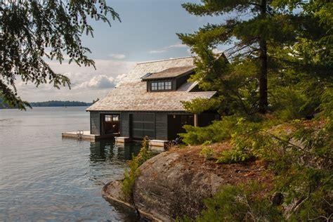 boat house ca muskoka boathouse james ireland architect inc