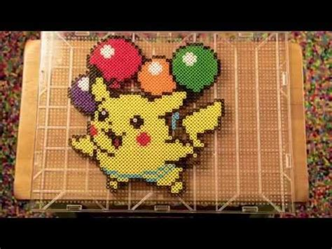 how to make out of perler pikachu perler bead stop motion animation