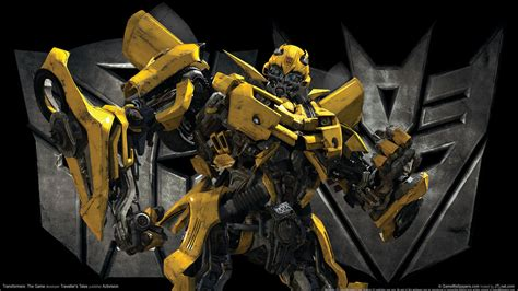 yellow wallpaper game transformers the game bumble bee wallpapers hd