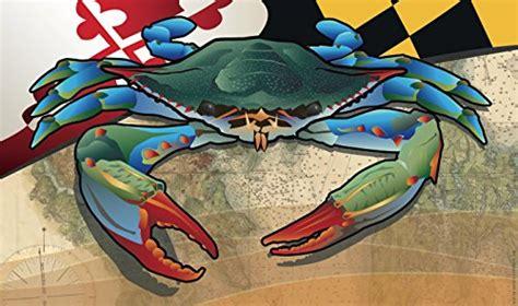 crab rubber st md blue crab citizen pride