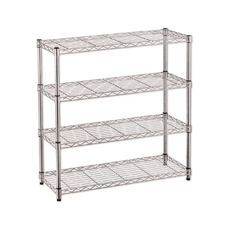 Warehouse Shoe Rack by Qiq Living Romak Wire Shoe Rack 910x890x290mm 4 Shelf